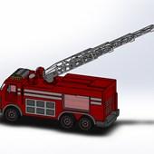 Toy Fire Truck Design